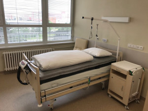 Nové lůžkové oddělení paliativní péče dnes otevřela prostějovská nemocnice