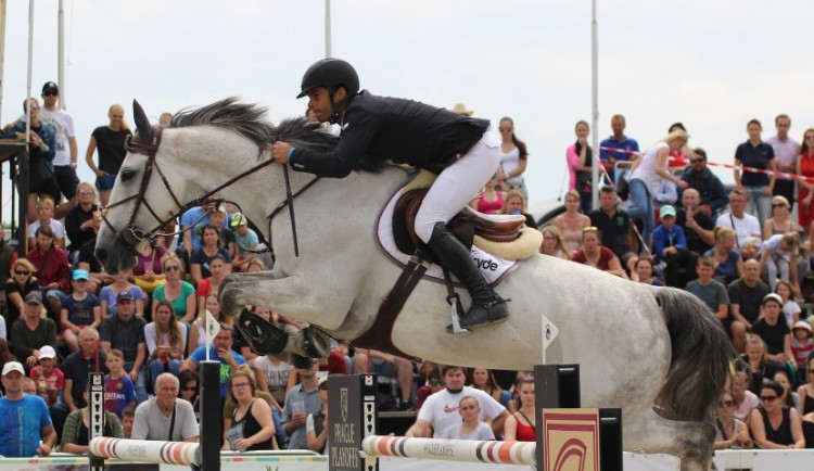 Světový pohár v Olomouci vyhrál Ital Camilli s koněm Jakko. Nejlepší Čech byl pátý