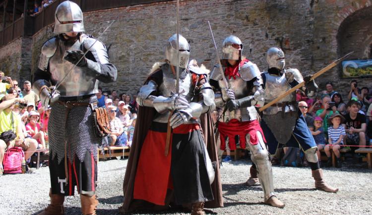 SOUTĚŽ: Vyhrajte rodinné vstupné na hrad Sovinec. Proběhne tam velkolepý rytířský turnaj