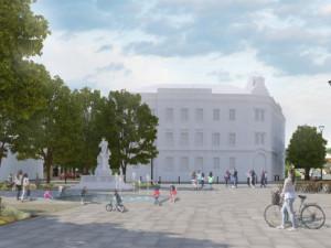 VIZUALIZACE: Zábřeh rekonstruuje náměstí. Bude na něm více stromů i parkovacích míst