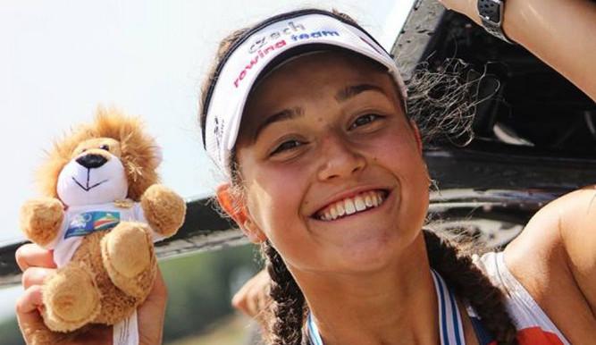 Z juniorského mistrovství Evropy veze Emma Benýšková bronz