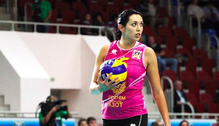 Volejbalové mistryně po odchodu opor získaly bulharskou hráčku Burbeljukovou