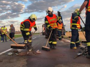 Čtvrteční nehoda u Dubu nad Moravou je letos nejtragičtější na území Olomouckého kraje