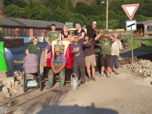 Lidé v Rajnochovicích pracují na prodloužení lesní železnice. S nápadem vybudovat ji přišel kdysi olomoucký arcibiskup