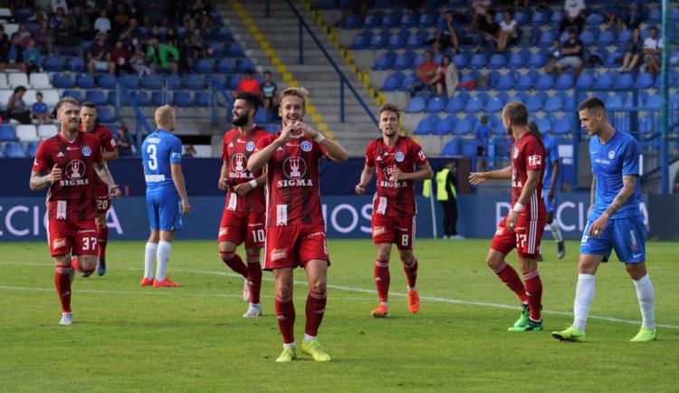 Tři body vystřelil Sigmě v Liberci Jakub Plšek. K výhře stačil jediný gól