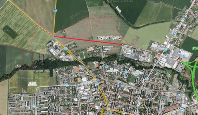 Dnes začala výstavba severního obchvatu Prostějova. Otevřen by měl být v roce 2022