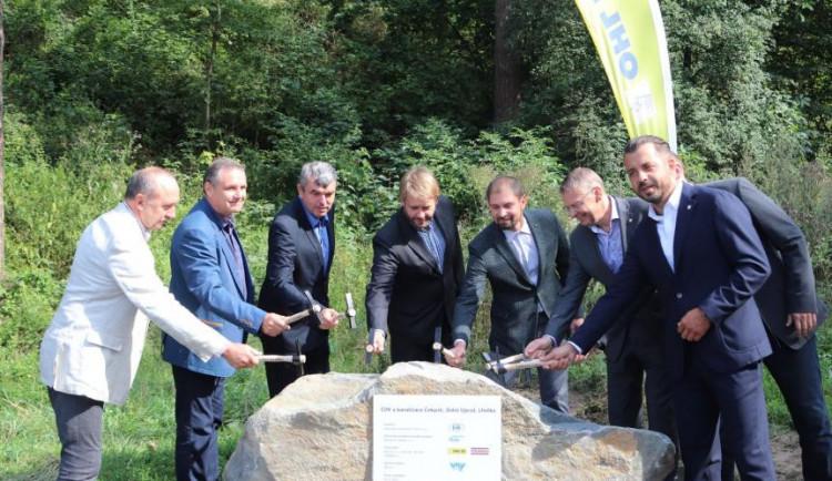Stavba kanalizace, stanic a čističek v Přerově může začít. Byl položen základní kámen