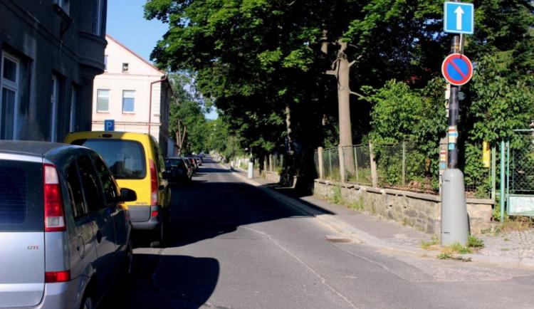 Tyršova ulice v Jeseníku se příští rok dočká rekonstrukce