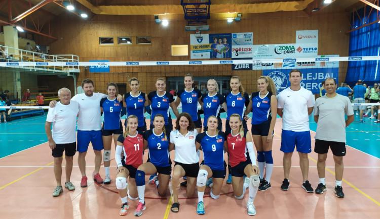 Volejbalistky Olomouce zvítězily na mezinárodním turnaji v Přerově