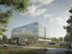 U Envelopy v Olomouci vyroste šestipodlažní administrativní budova za téměř miliardu. Stavba už začala