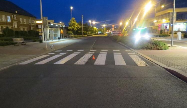 Policie hledá neukázněného cyklistu, který se u nádraží střetl s autobusem a z místa nehody ujel