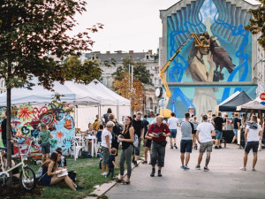PROGRAM: V rámci olomouckého Street Art Festivalu vytvoří umělci mural na sedmnáctimetrovou budovu
