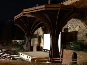 Olomoucké letní kino už nikdy nebude jako dřív, bude se demolovat dřevěná konstrukce kolem plátna