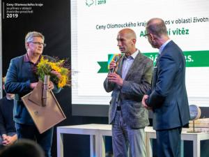 FOTO: Letošní Ceny Olomouckého kraje za přínos voblasti životního prostředí ovládl Sluňákov