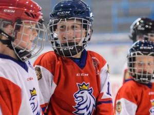 V rámci akce Týden hokeje si mohou děti vyzkoušet, jaké to je být hokejistou