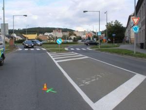 Policisté žádají o spolupráci při objasnění dopravní nehody, při které byla zraněna cyklistka