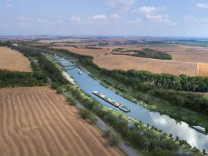Přerov podpořil prodloužení Baťova kanálu do Olomouckého kraje