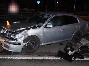 Řidička nedala přednost. V křižovatce ulic Velkomoravská a Schweitzerova došlo k nehodě