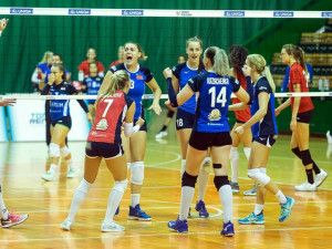 Olomoucké volejbalistky prohrávaly už 0:2. Nakonec nad Brnem zvítězily 3:2 a jsou první
