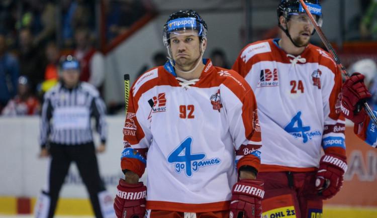 Olomoučtí hokejisté mají podle fanoušků nejhorší dresy v extralize