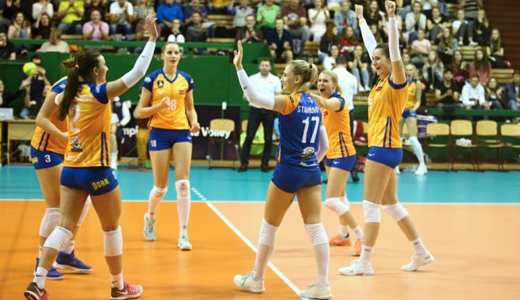Olomoucké volejbalistky doma otočily zápas s Brnem a dál jsou na čele extraligové tabulky