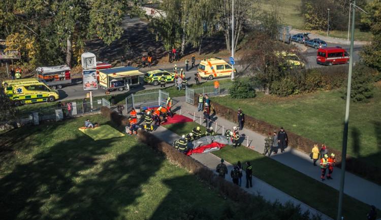 FOTOGALERIE: Podívejte se na fotky z velkého cvičení záchranných složek v Olomouci