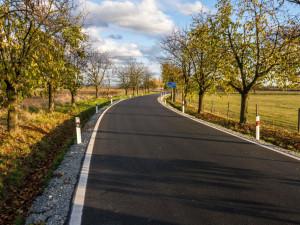 V regionu byly otevřeny dvě opravené silnice