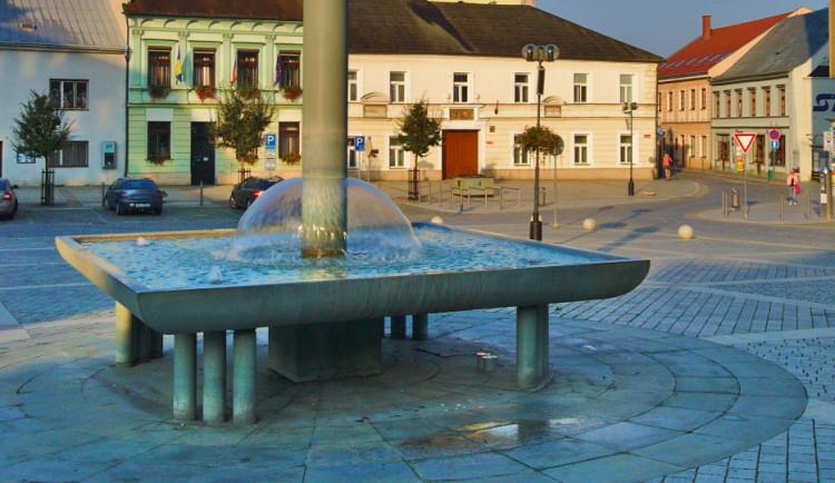 Kašnu na přerovském náměstí čeká v příštím roce oprava
