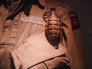 Muž našel za domem granát z první světové války