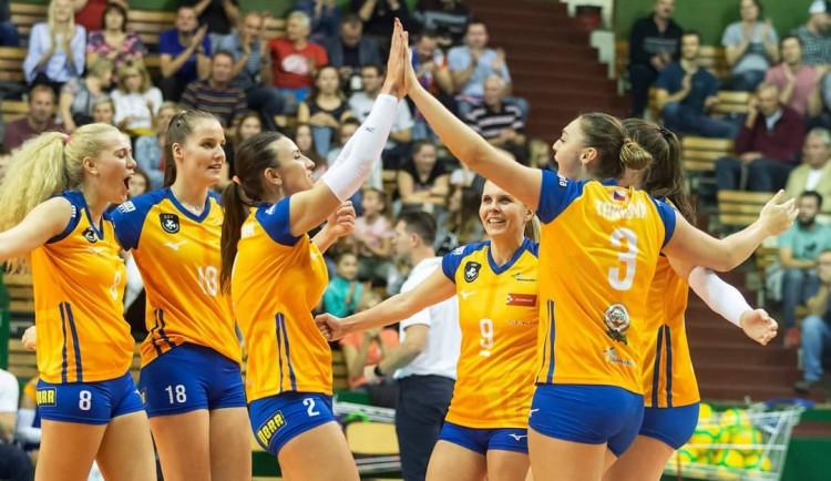 Olomoucké volejbalistky vrátily rivalkám porážku. Vysokoškolačky porazily Prostějov 3:0