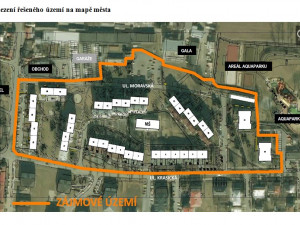 Revitalizace sídliště Moravská čeká na vhodný projekt