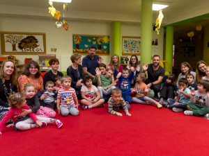 FOTO: Redakce Olomoucké Drbny navštívila děti z mateřinky pro sluchově postižené