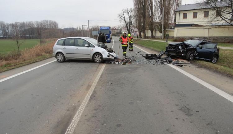 Ranní nehodu v Šumperku způsobila nejspíš únava řidiče