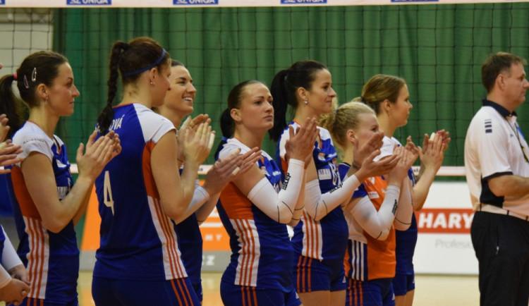 Olomoucké volejbalistky podpoří dobrou věc, budou hrát pro děti ze základní školy Credo