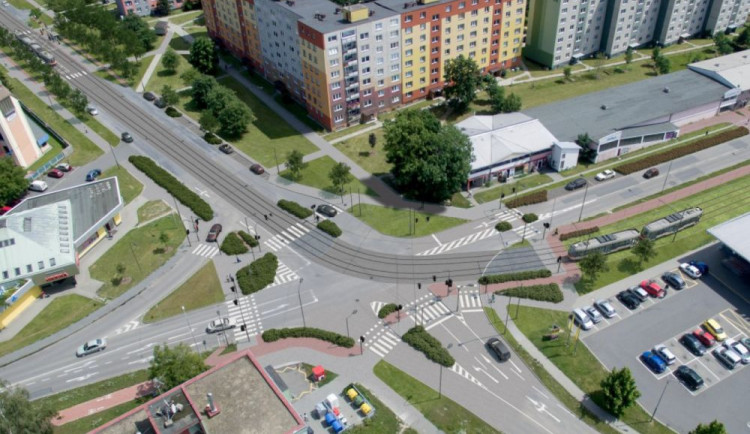 vizualizace tramvajové trati