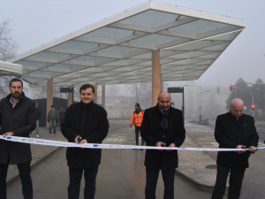 Nový terminál v centru Prostějova usnadní cestování linkovými autobusy
