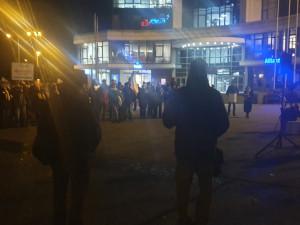 Dvě stě lidí v Olomouci protestovalo proti Babišovi, požadovali jeho demisi