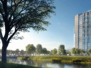 Investor Šantovky Tower se odvolal proti rozhodnutí magistrátu. Zpochybňuje existenci ochranného pásma