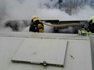 FOTO: Celkem čtyřicet zásahů měli během uplynulých svátků hasiči v Olomouckém kraji