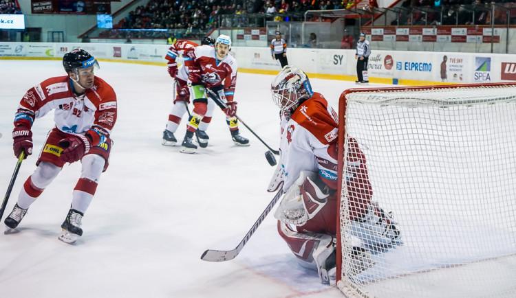 FOTO: Mora prohrála na domácím ledě s Pardubicemi 1:2