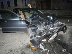 Při nehodě na Šumpersku se zranili tři lidé, škoda se vyšplhala na čtvrt milionu