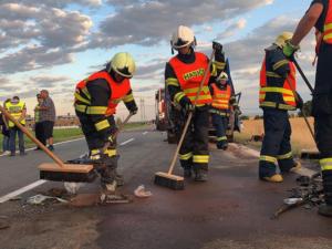 Nehody v Olomouckém kraji mají za loňský rok tři desítky obětí. Nejtragičtější se stala u Dubu nad Moravou