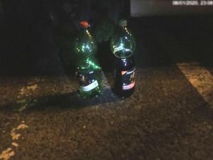 Strážníci překazili večer skupince popíjející alkohol v centru Olomouce