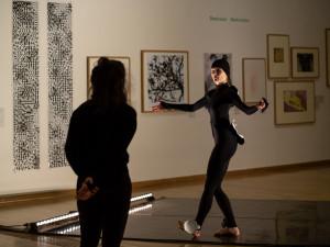 V Muzeu umění bude k vidění přímo ve výstavě grafiky francouzská performance