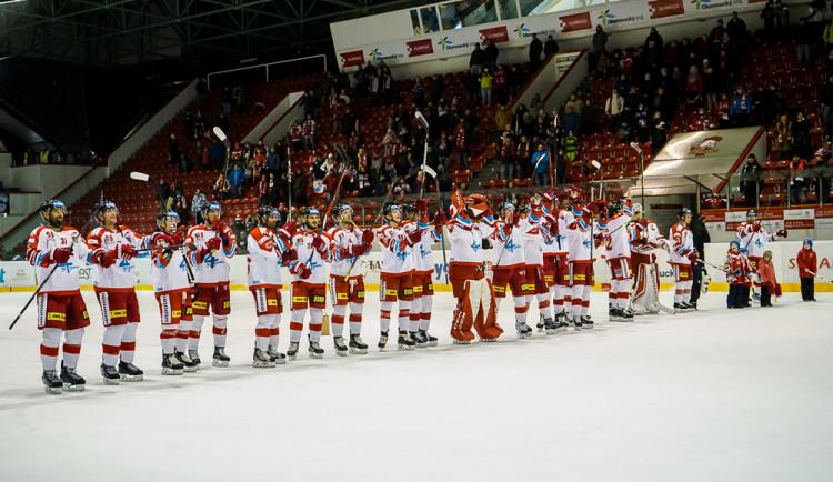 Kohoutům se na domácím ledě dařilo, Hradec porazili 2:0