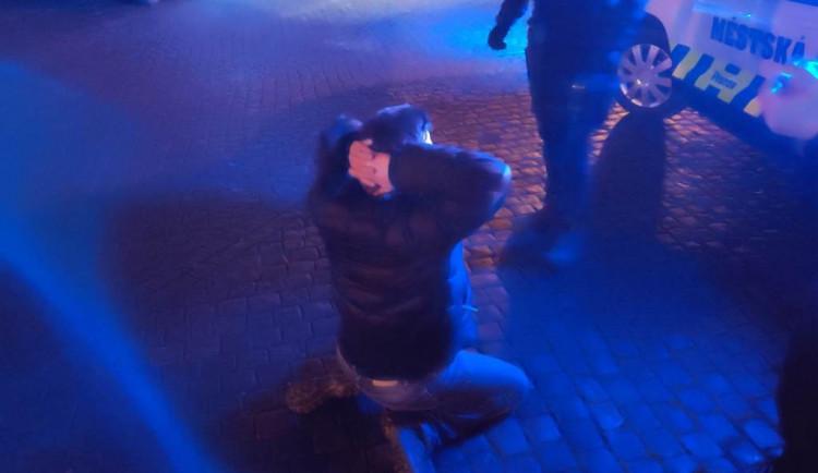 Strážníci řešili o víkendu v centru města hned několik rvaček