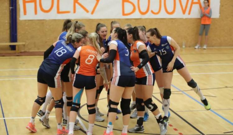 Volejbalistky Šternberka vrepríze souboje sOstravou vyhrály 3:0 a odváží si tři body