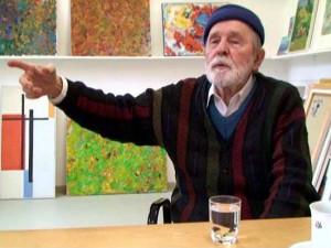Ve Švýcarsku zemřel abstraktní malíř Radoslav Kutra, významný olomoucký rodák