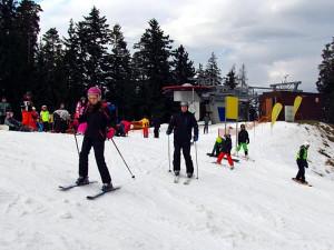 Jesenickým skiareálům přinášejí potíže výkyvy počasí