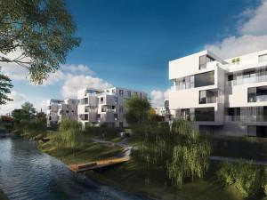 Luxusní bydlení u Šantovky má dočasnou stopku, zájemci o byty dostávají zpět zálohy